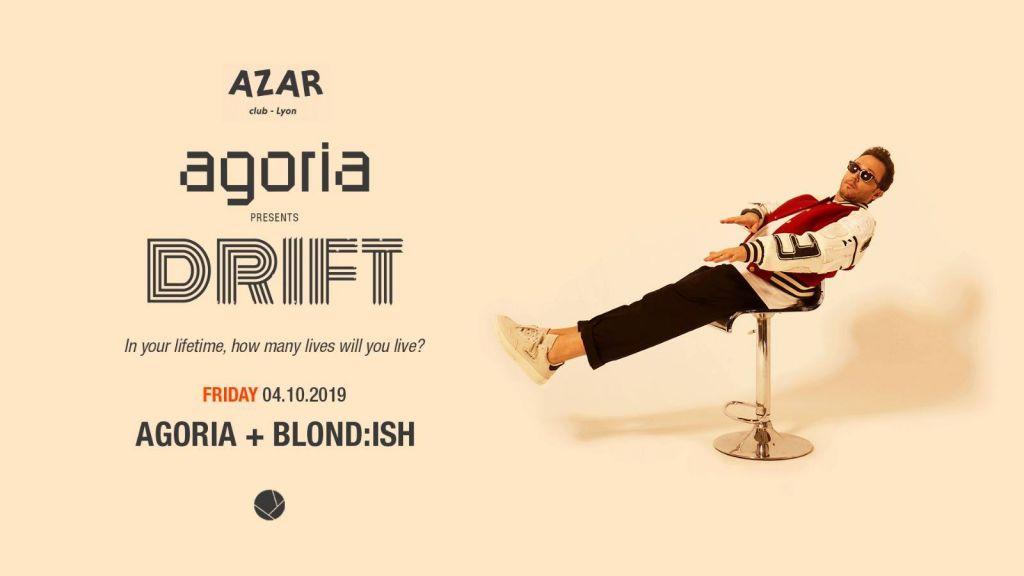 Agoria presents DRIFT w/ Blond:ish