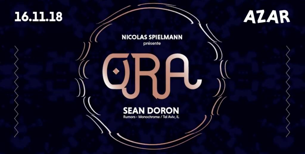 Nicolas Spielmann présente Ora > Sean Doron