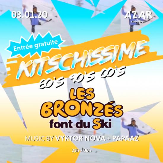 Kitschissime – Les Bronzés font du ski