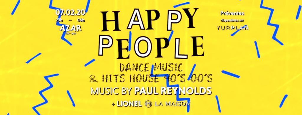 Happy People – Paul Reynolds – Azar Club