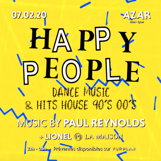Happy People – Paul Reynolds – Azar Club