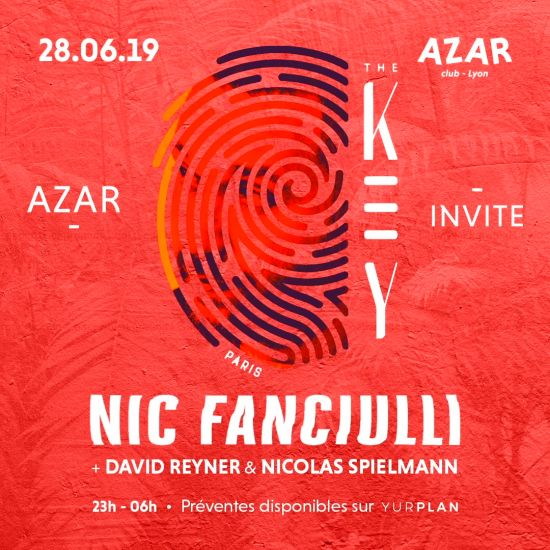 the KEY PARIS w/ NIC Fanciulli