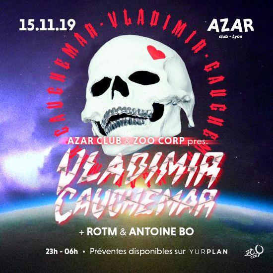 Azar Club & Zoo Corp. prés. Vladimir Cauchemar