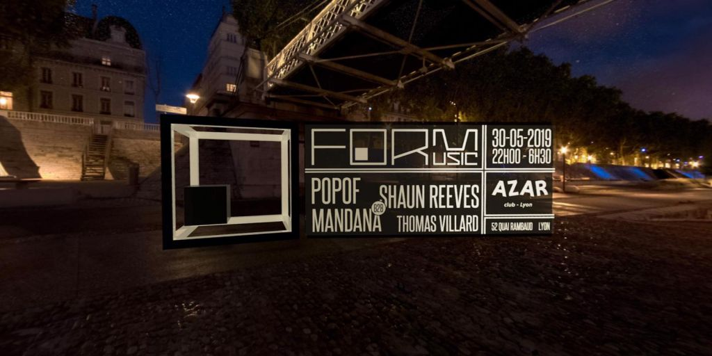 FORM Music / POPOF / Shaun Reeves / Mandana